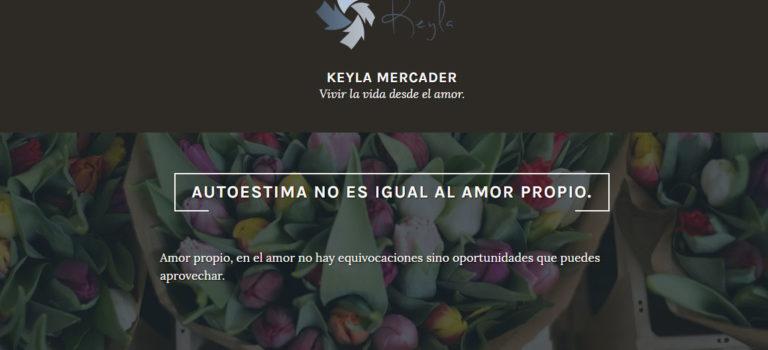 Website EN CONSTRUCCIÓN Keyla Mercader